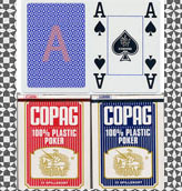 COPAG 100 PLASTIC marked cards
